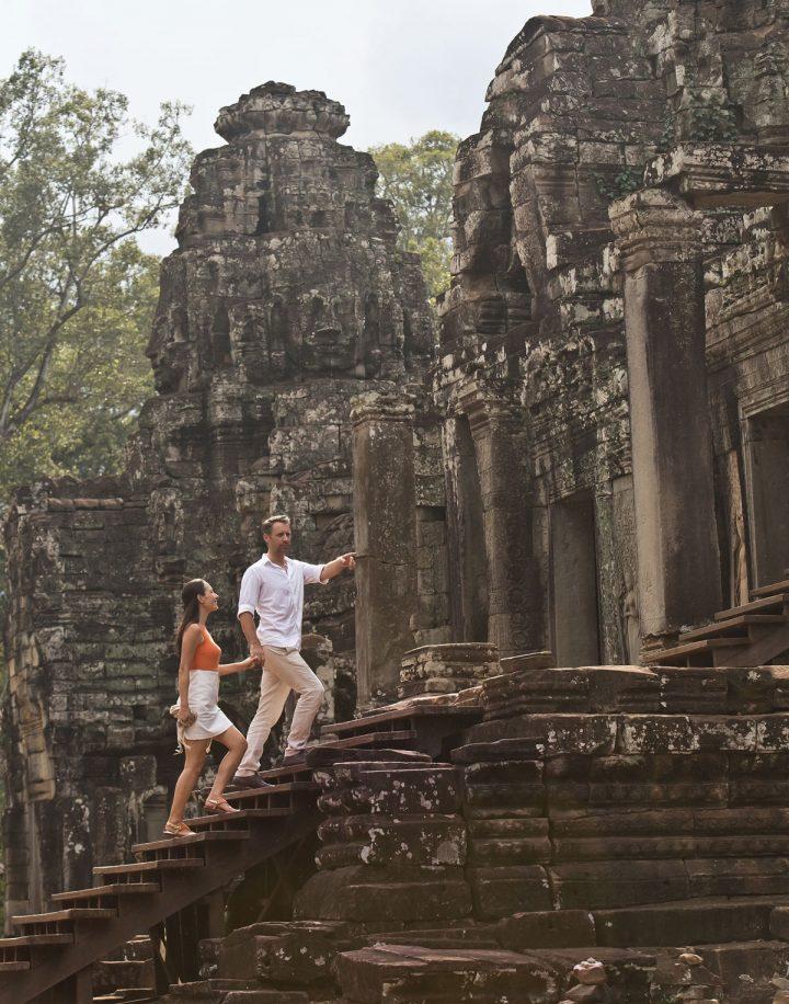 Les merveilleux temples d'Angkor