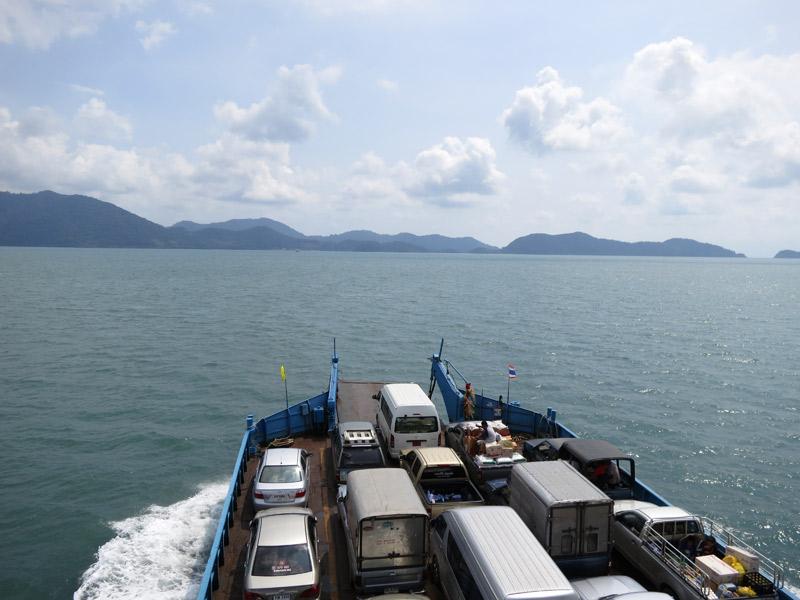 Ferry pour Koh Chang