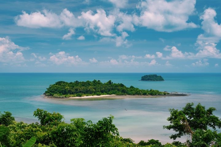 L'île de Koh Chang en Thaïlande