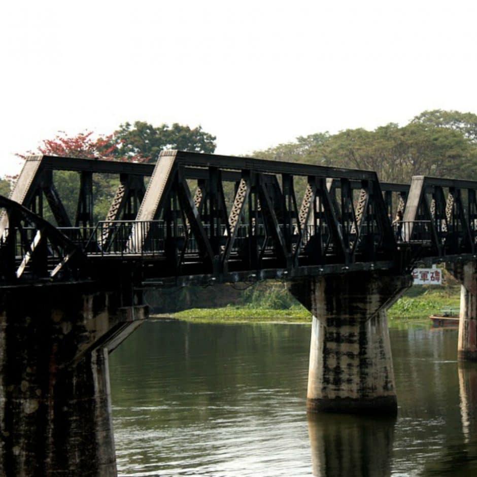 Kanchanaburi et le pont de la Rivière Kwaï