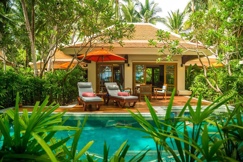 Two Bedroom Grand Deluxe Beachfront Villa au Santiburi à Koh Samui
