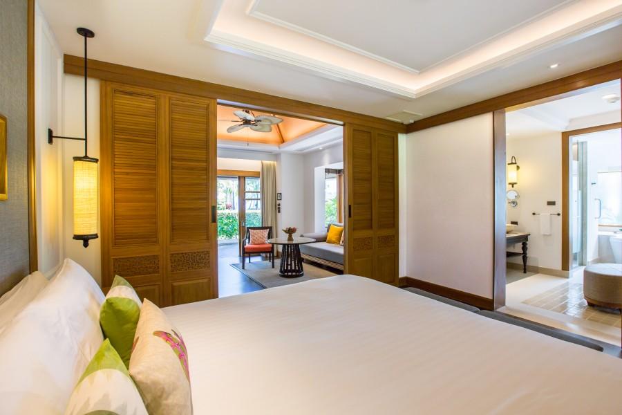 Chambre de la Deluxe Beachfront Villa à Koh Samui