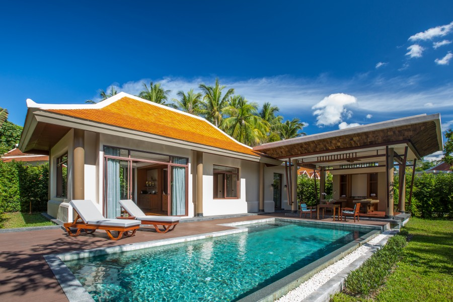 Grand Deluxe Pool Villa du Santiburi à Koh Samui