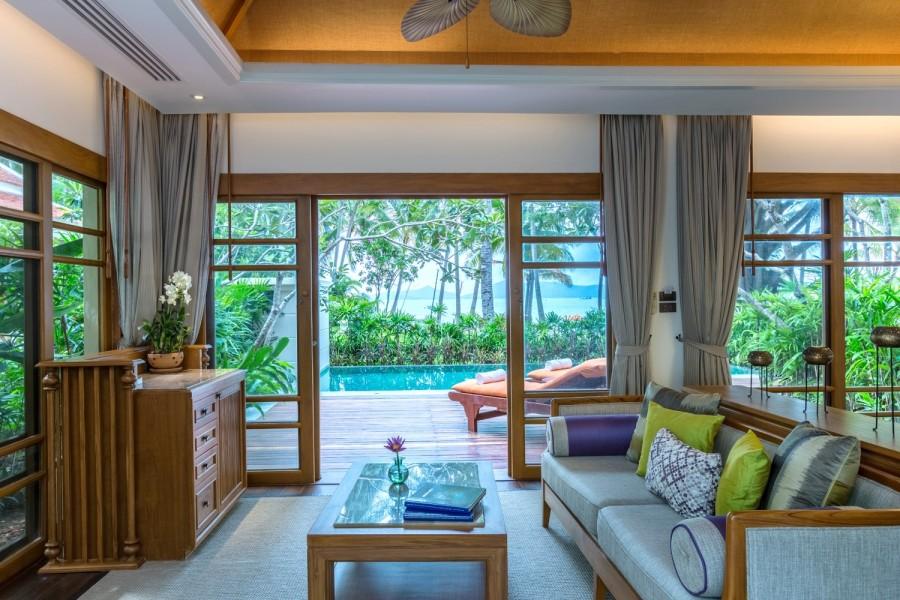 Deluxe Pool Villa au Santiburi à Koh Samui