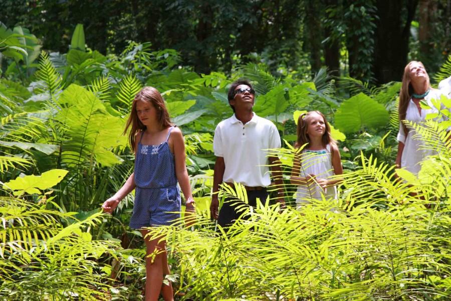 environnement du Six Senses Zil Pasyon aux Seychelles