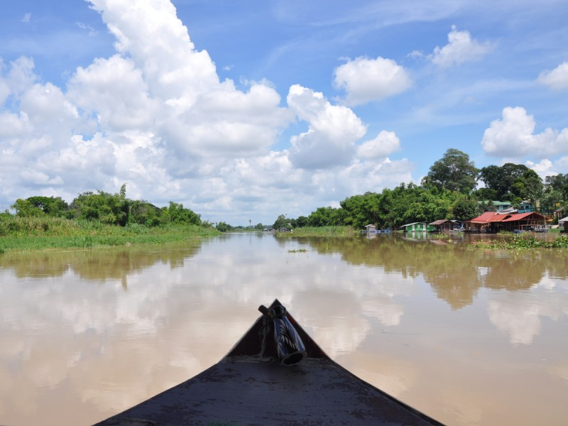 circuit en thaïlande rivière sakaekrang thailande