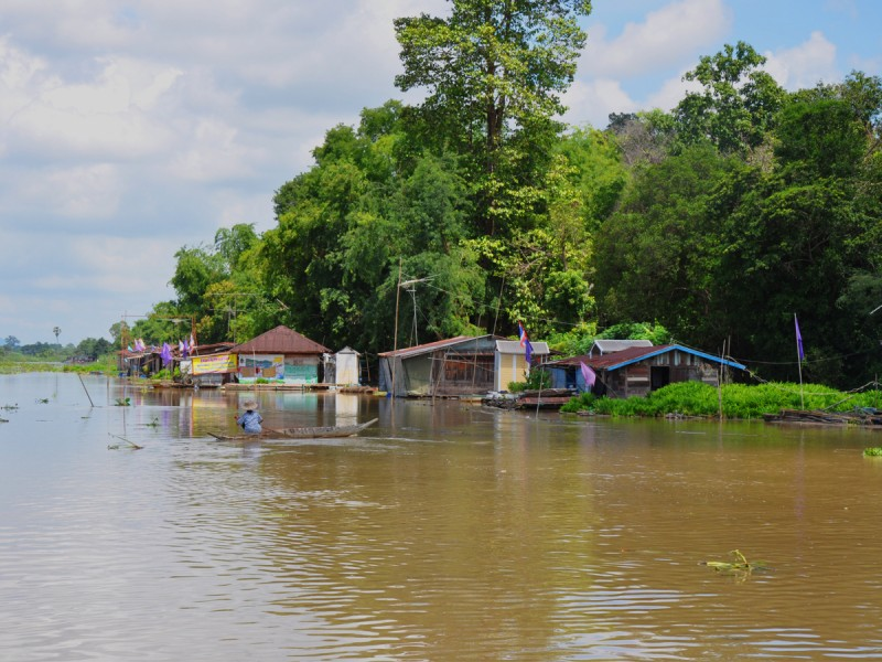 rivière sakaekrang thaïlande