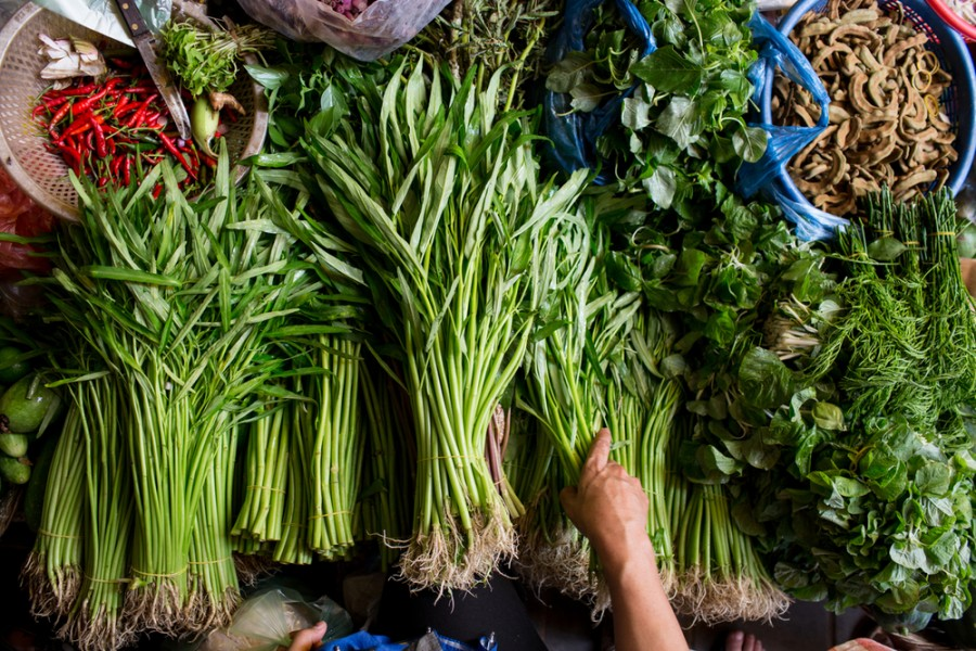 marché au Cambodge