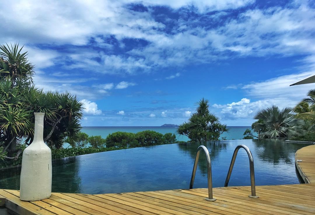 La piscine du Paradise Cove à l'île Maurice