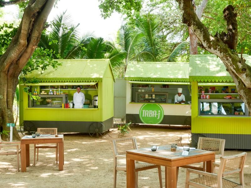 Les foodtruck Taba-j à l'île Mauirce