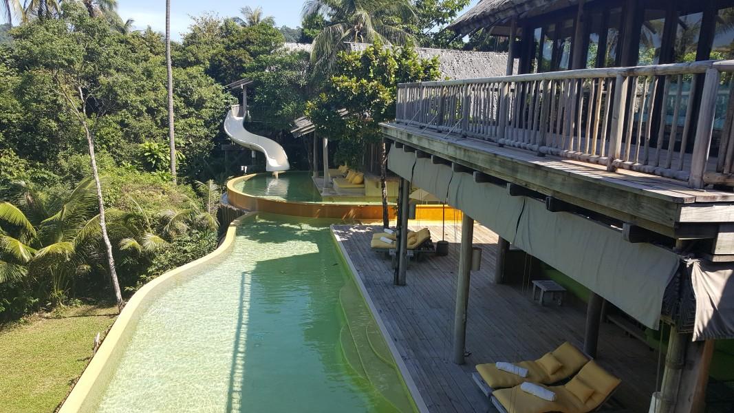 Private Cliff Pool Villa
