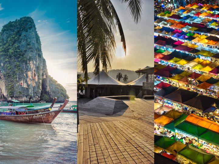 Triptyque thaï en famille