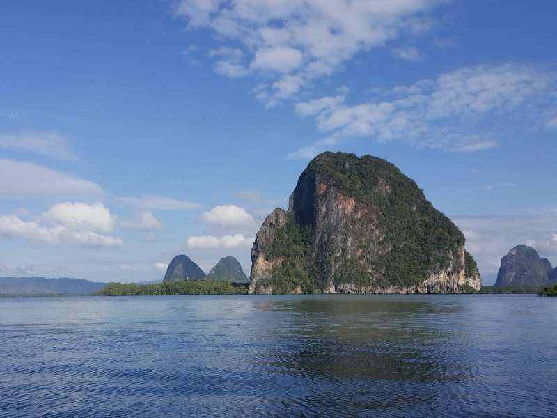 La baie de Phang Gna