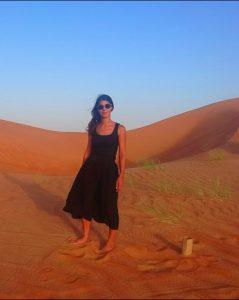 Melody dans le désert omanais