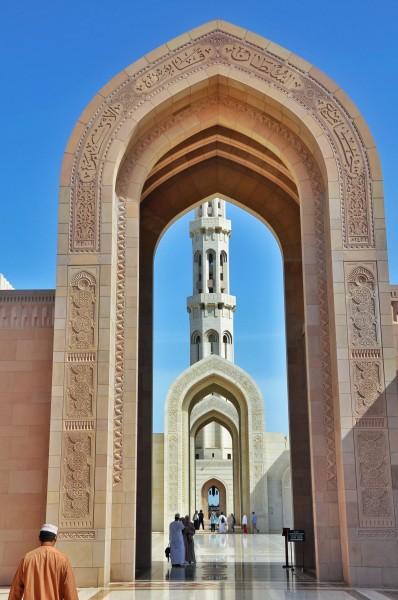 les portes extérieures de la mosquée