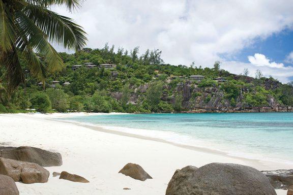 La magnifique plage de Petite Anse