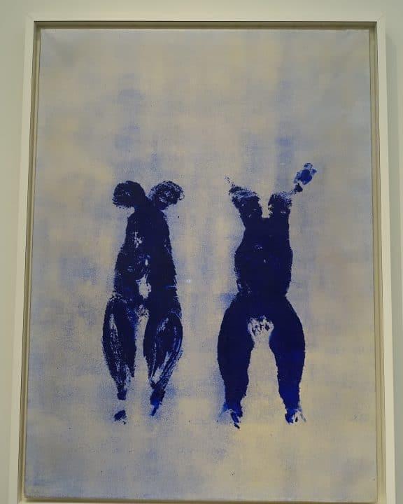 Les danseuses bleues de Klein