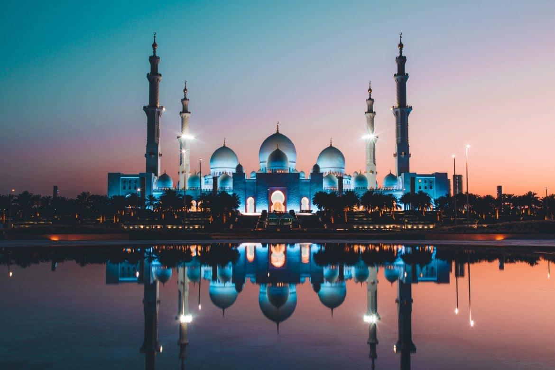 La Grande Mosquée de nuit